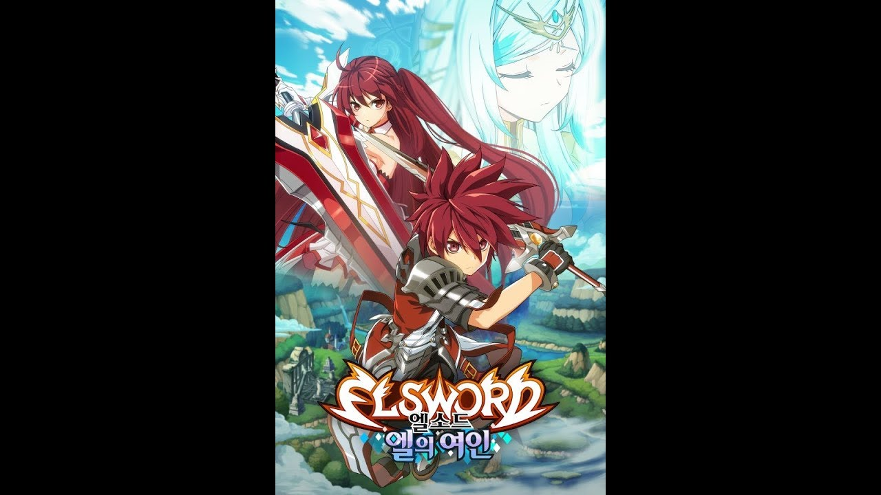 Elsword Animation A Dama De El