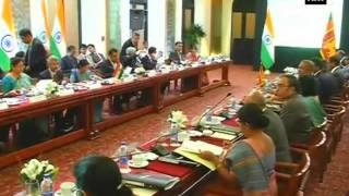 Swaraj attends Indo-Lanka Joint Commission meet in Colombo