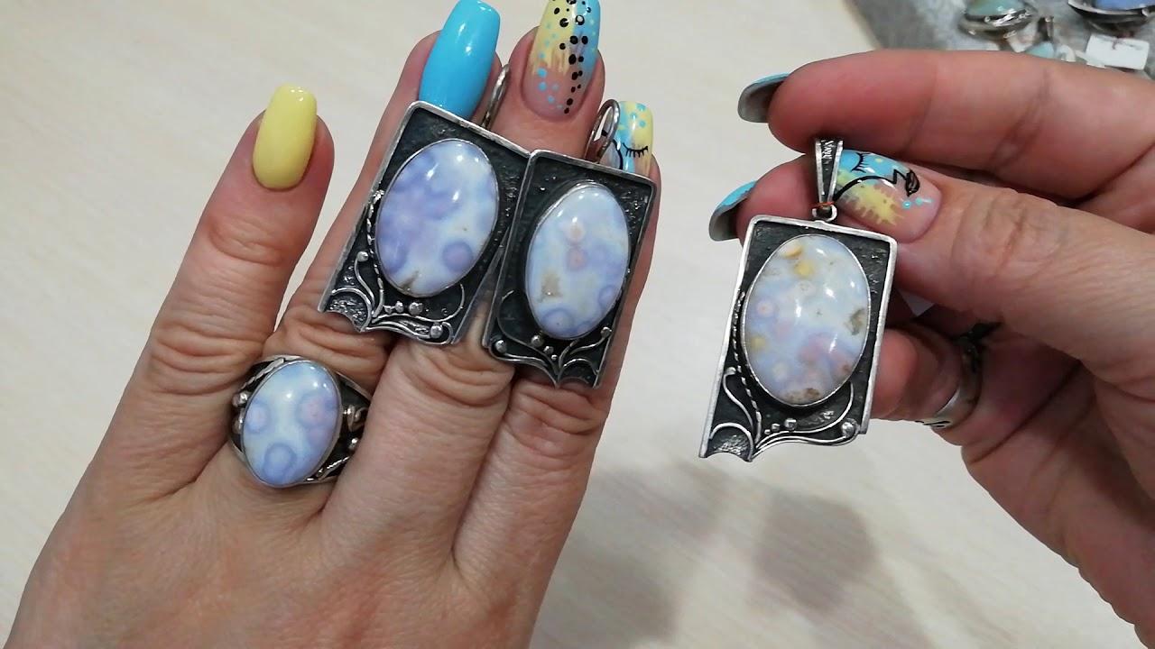 Серебряные украшения с натуральными камнями от творческой мастерской Эллюн! 💍💥9.07