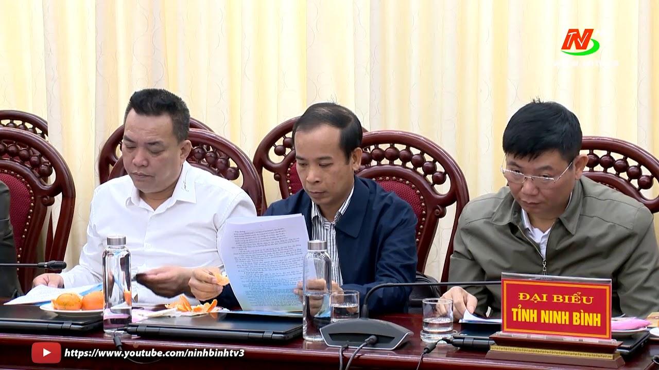 Đoàn công tác của Bộ Giao thông Vận tải làm việc tại Ninh Bình