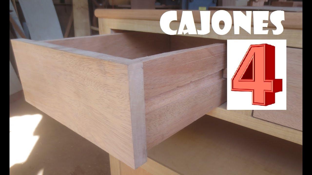 cuarta parte 4 como hacer cajones de madera porta tv