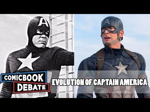 Evolution of Captain America in Movies & TV in 7 Minutes 2017