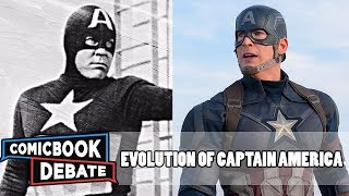 Evolution of Captain America in Movies & TV in 7 Minutes (2017)