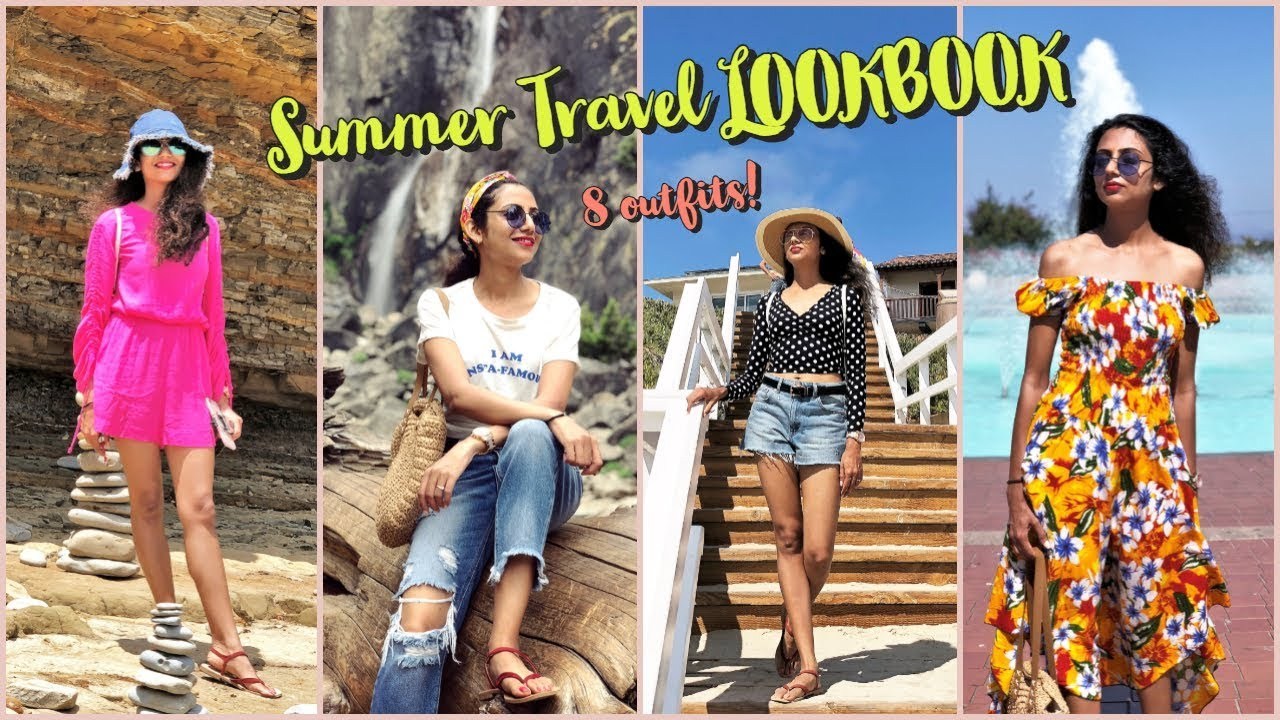 [VIDEO] - What I Wore in West Coast | Summer Travel Outfits | Himani Aggarwal 3