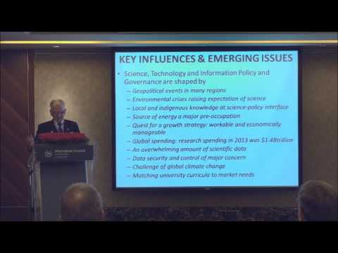 Higher Education Forum 2017 Taipei Conference Natural Science Keynote – Dr. Vivian Louis Forbes