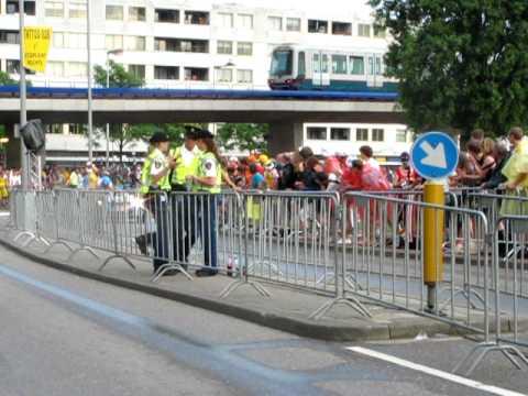 Julian Dean in the Tour de France Prologue 03-07-2010 Rotterdam Part II