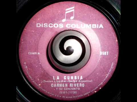 CARMEN RIVERO y su Conjunto - LA CUMBIA (Discos Columbia)