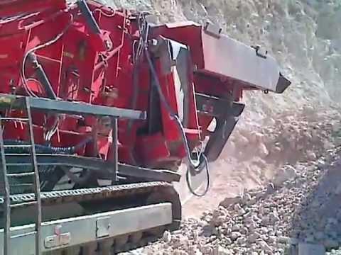trituradora de mineral