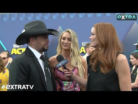 Jason & Brittany Aldean Talk Returning to Las Vegas & Son Memphis' Big Milestone