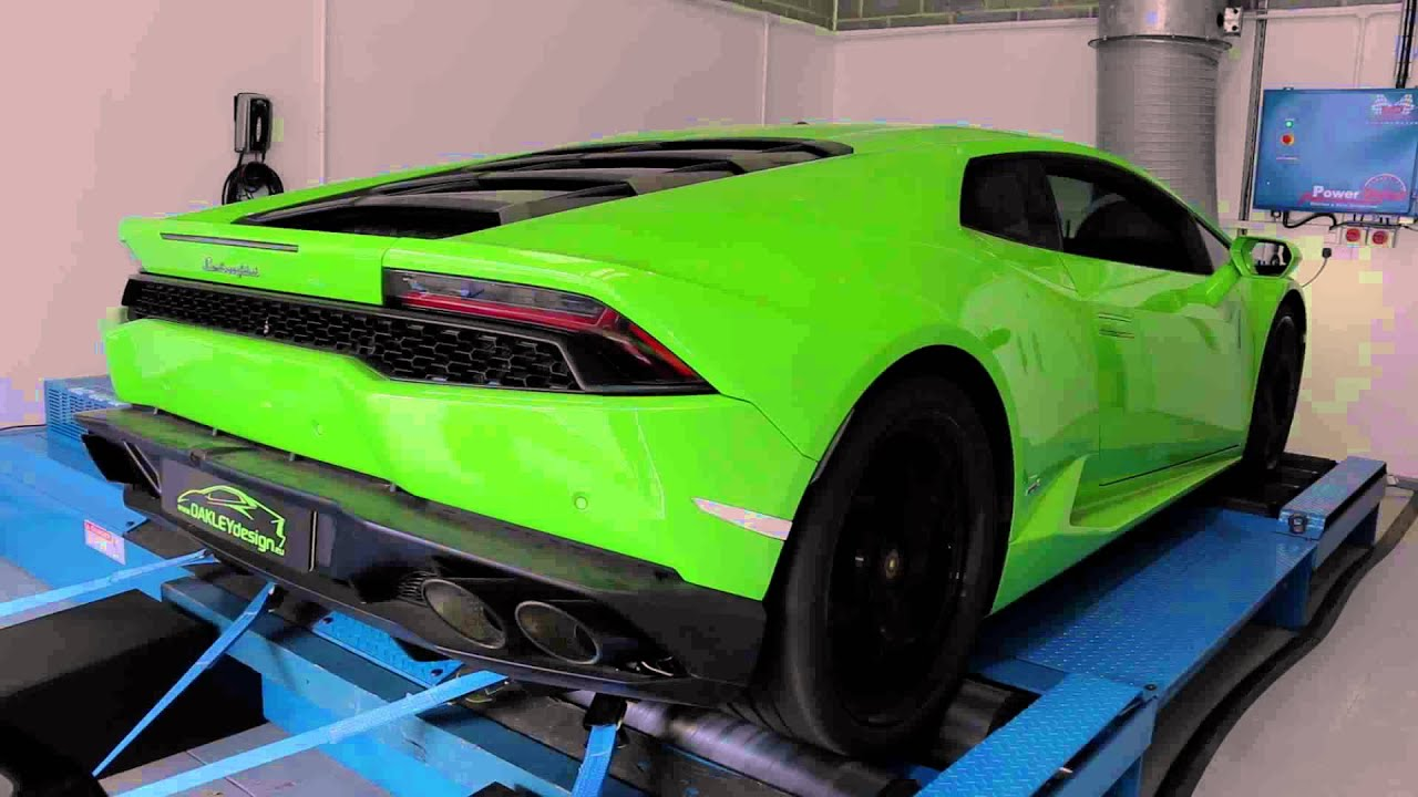 lamborghini huracan dyno rolling road tuning at jf automotive