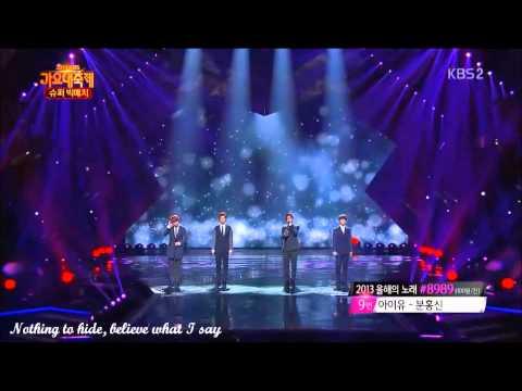 [Eng Lyrics] EXO - Open Arms 131227 (Live)