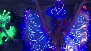 Световое шоу на новогодний корпоратив в Самаре и Тольятти