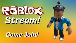 🔴 LIVE! 🔴 VIEWERS CAN REQUEST GAMES TO PLAY! | Roblox Stream! | Part 1