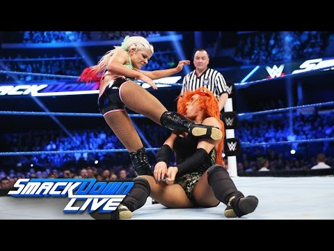 Becky Lynch vs. Alexa Bliss - SmackDown Women's Championship Match: SmackDown LIVE, Nov. 8, 2016