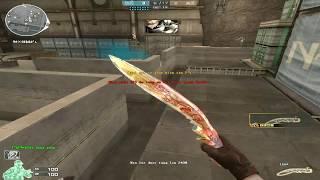 [ Bình Luận CFQQ ] AK-47 Knife-Transformer Noble Gold - Tiền Zombie v4