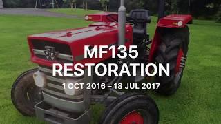Massey Ferguson 135 Restoration