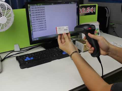 NT-2012 Cheap Wired Laser Barcode Scanner