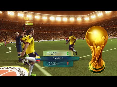 2014 Fifa World Cup  - Colombia Vs Chile - Empieza el Camino Rumbo al Mundial - Gameplay Xbox 360