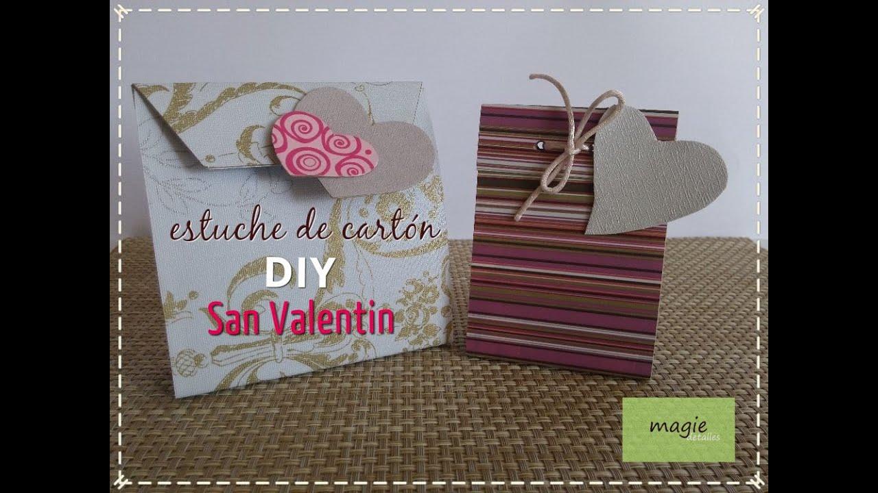 57e3d4a33 DIY San Valentin Estuche de Cartón by Magie Detalles