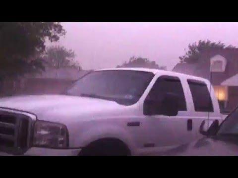 Storms in Edmond, Oklahoma 4/26/2016