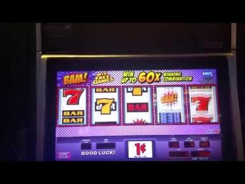 Nice Win! BAM! slot machine at Resorts World casino