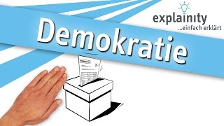 Demokratie einfach erklärt (explainity® Erklärvideo)