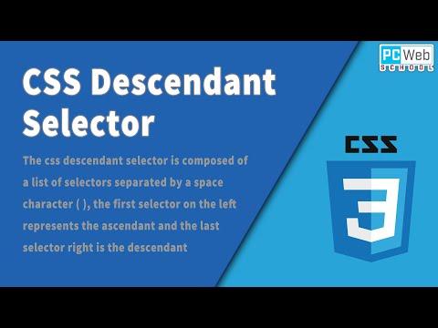 CSS Descendant Selector