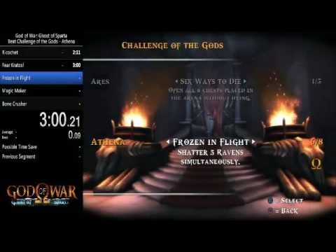 God of War: Ghost of Sparta Challenge of the Gods - Athena en 6:51