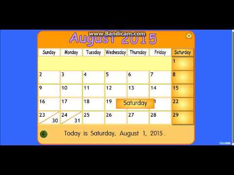 August 2015 is here