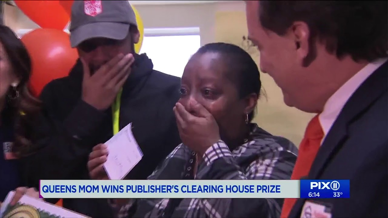 Pix11 Covers Publishers Clearing House $5,000 a Week