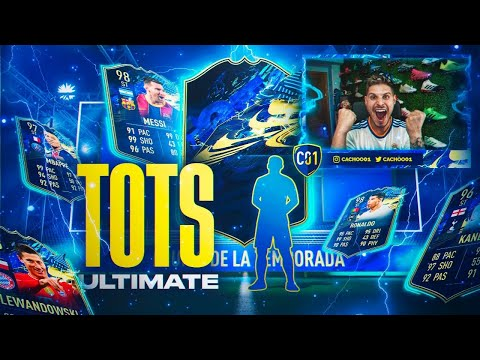 ME TOCAN TOTS ULTIMATE EN LA RONDA DE SOBRES!! | FIFA 21