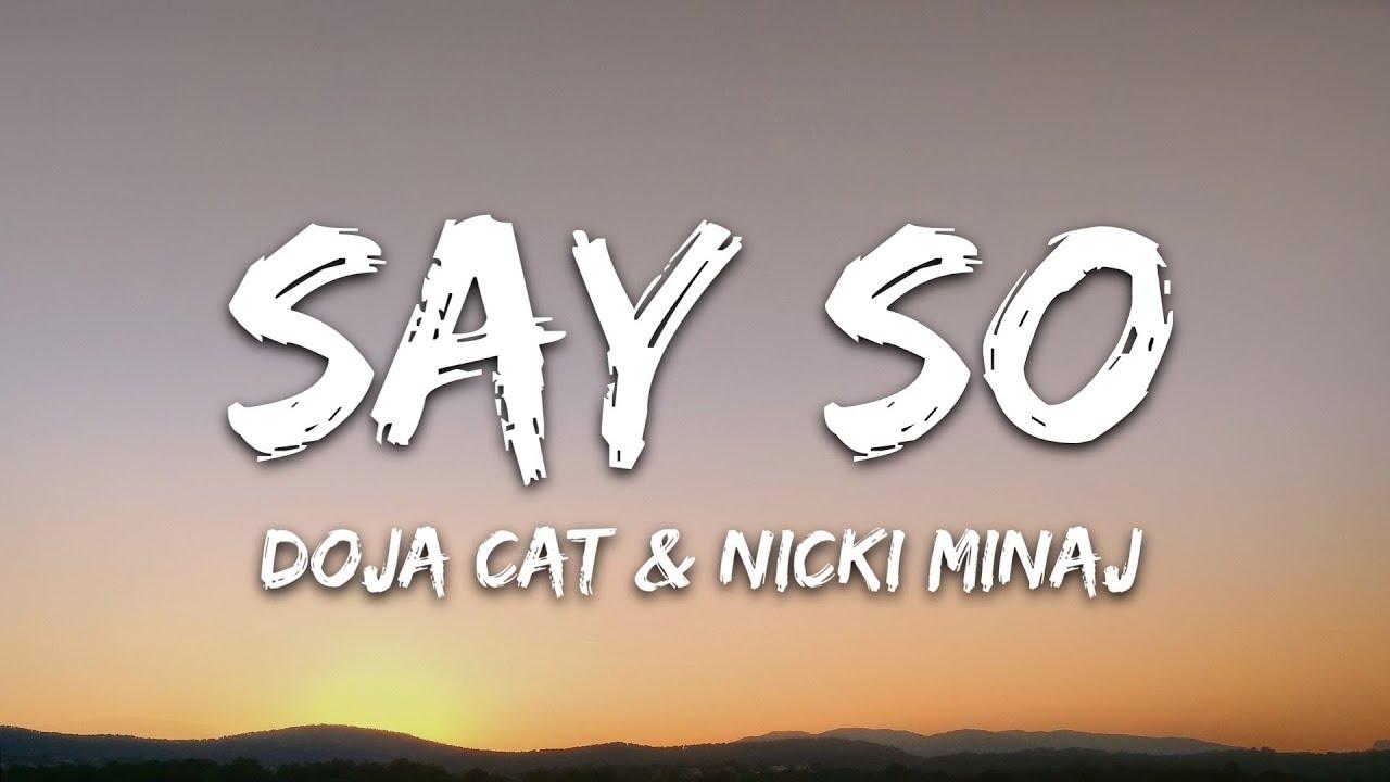 Download Doja Cat & Nicki Minaj - Say So (Lyrics) Remix