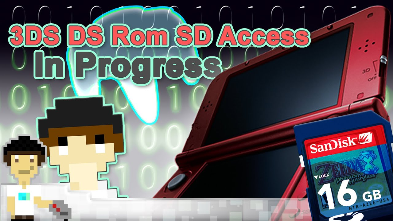 Native DS harware Access Through SD Card In the Works - 3DS | #PixelNews