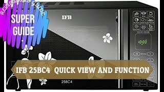 IFB 25BC4 - QUICK VIEW DEMO AND FUNCTION