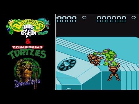 TMNT & Battletoads & Double Dragon: The Ultimate Team (BETA). Dendy [Прохождение / Walkthrough]