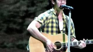 "Nick Jonas ""Introducing Me"" 2 minute challenge!-Jonas Brothers Camp Rock Tour-Hershey, PA 8/14/10"