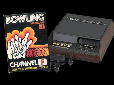 VC 21 - Bowling - (1978) - Channel F - WIN! HD
