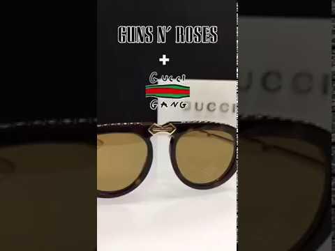 9a3abdb3db Gucci GG 0307S Aviator Foldable Plastic Sunglasses   UPC  889652127606