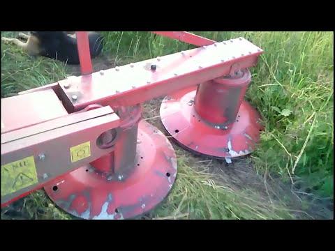 видео: Сенокос косилка wirax