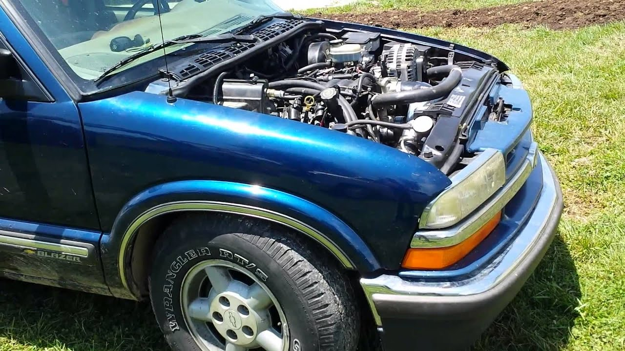 99 S10 Blazer 4x4 5 3 LM7 V8 Swap