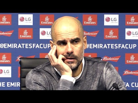 Manchester City 5-0 Burnley - Pep Guardiola Embargoed Post Match Press Conference - FA Cup
