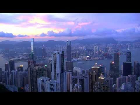 Hong Kong island  tour in stunning  HD