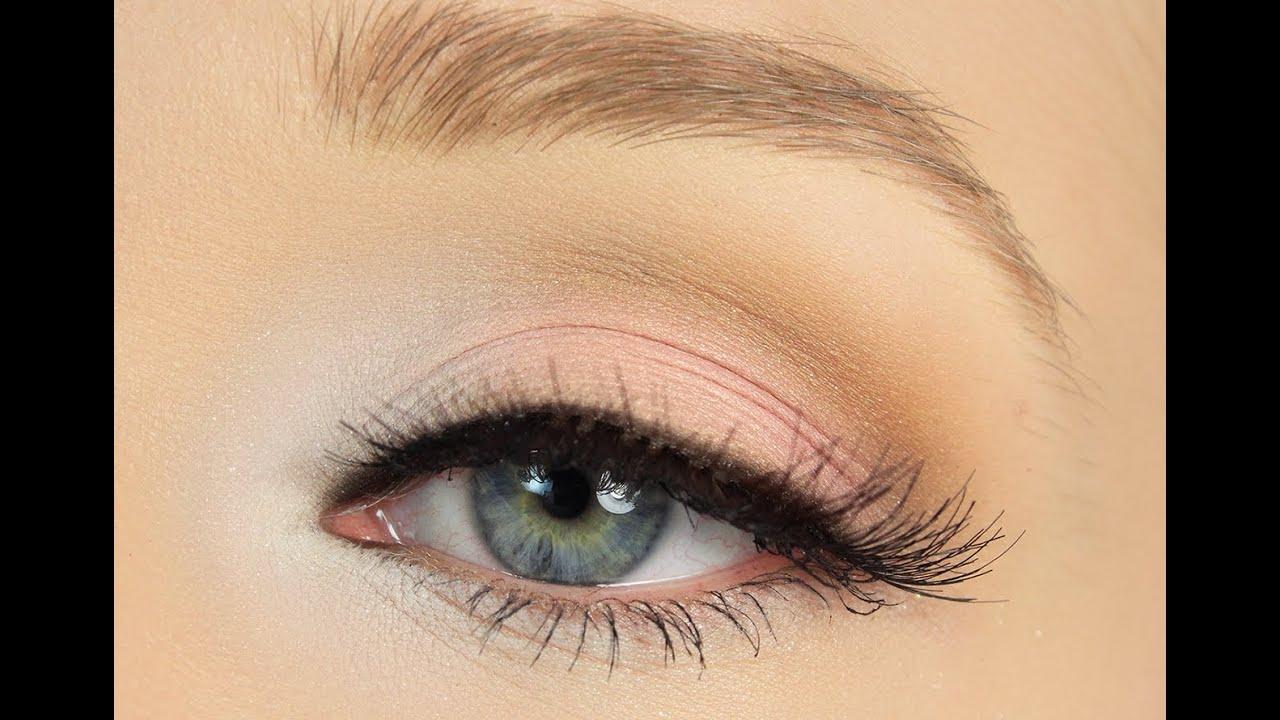 Simply Pink Eye Makeup Tutorial - YouTube