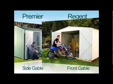 Garden Sheds - Absco - How to Choose the Right Garden Shed - BuyaShed.com.au