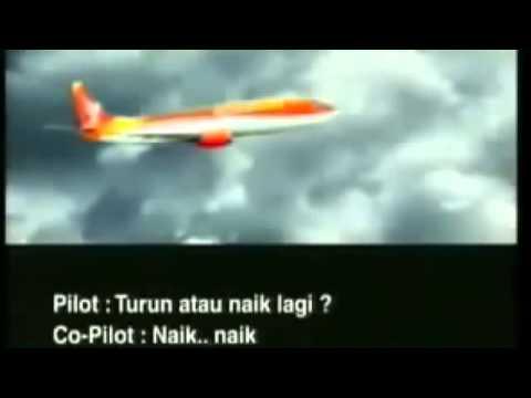 BERITA TERBARU Rekaman Percakapan Pilot Detik detik Sebelum Pesawat Jatuh
