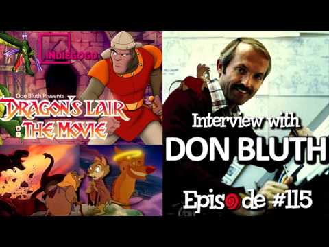 Don Bluth Interview - RubberOnion Animation Podcast #115
