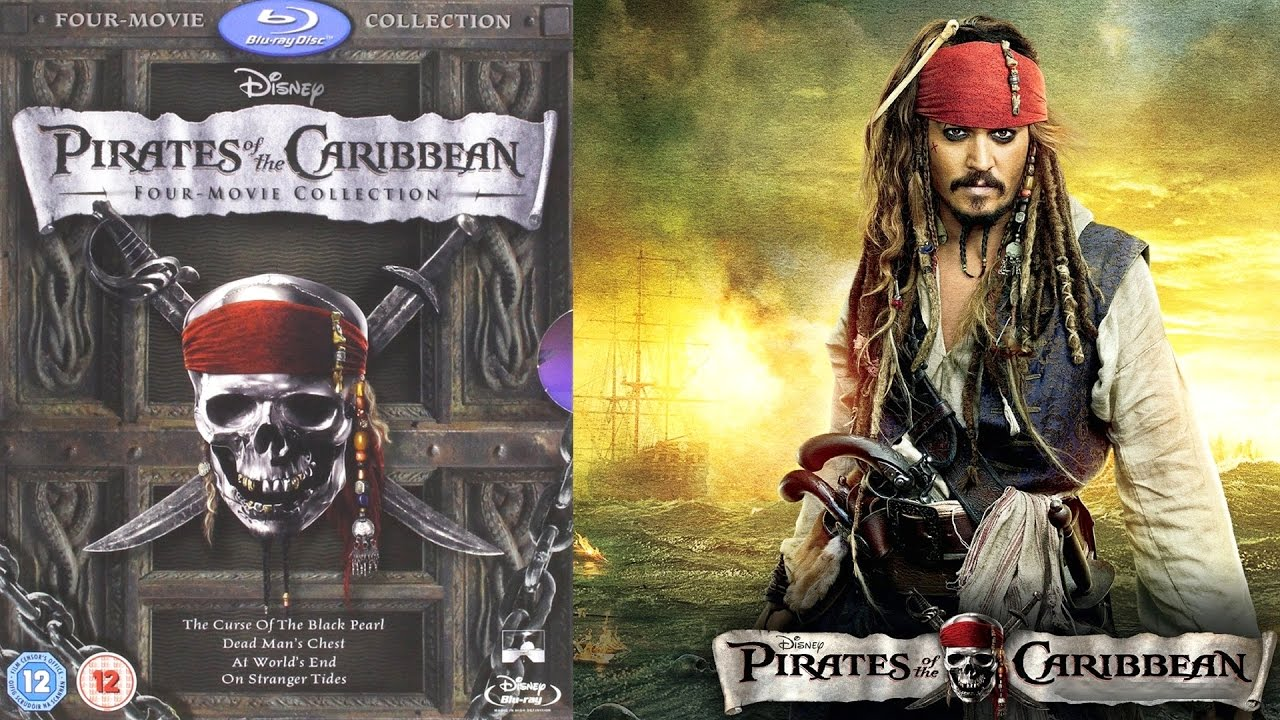Pirates Of The Caribbean 1 4 Box Set Blu Ray Review Youtube
