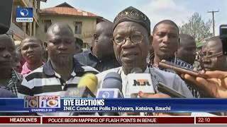 INEC Conducts Bye Elections In Kwara, Katsina, Bauchi