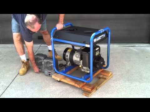 11 Hp Briggs And Stratton Wiring Diagram Rlmutoob 5000 Watt Generator 10hp Electric Start Youtube