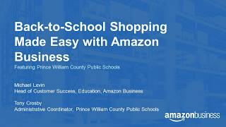 Back-to-School Shopping Made Easy with Amazon Business